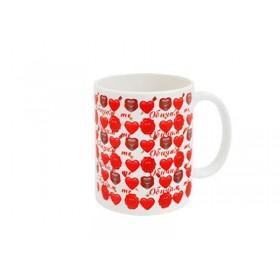 "Чаша ""Обичам те"""