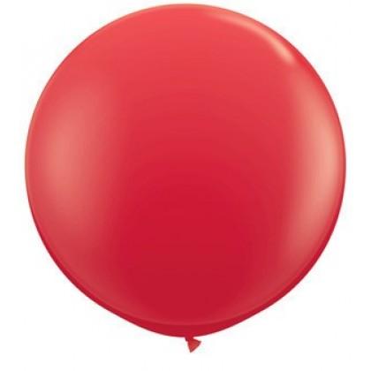 """Oгромен балон 100 см пълен с папируси """"Обичам те на 100 езика"""""""