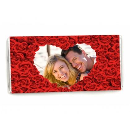 Шоколад Свети Валентин с Ваша снимка и текст