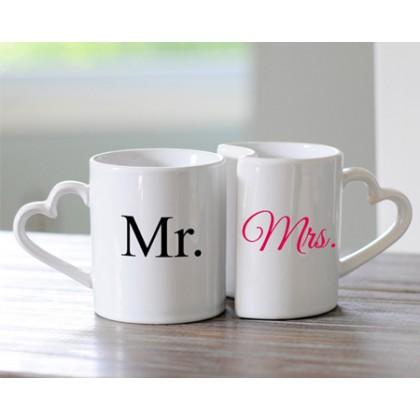 Влюбени чаши за теб и твоята половинка със снимка и текст